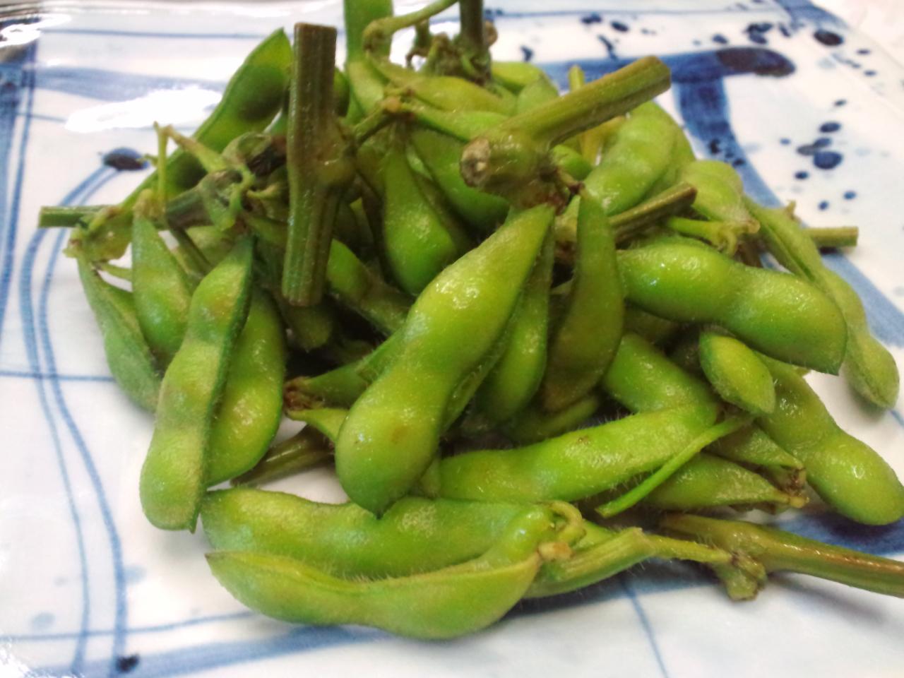 枝豆のお話。
